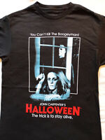 Michael Myers Halloween Poster Can't Kill Boogeyman Laurie Horror Movie T-Shirt