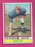 1974 TOPPS # 261 BILLS PAUL SEYMOUR  NRMT-MT ROOKIE  CARD (INV# C4707)