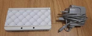 NEW 3DS Nintendo Console White Style Boutique 2 Edition + Original Charger.