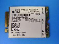 Sierra Wireless DW5808e 4G/LTE EM7355 Qualcomm WWAN NGFF Card (A00) 4KG0W