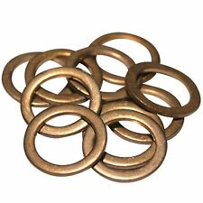 Vauxhall Opel GM - 10 Copper OE Replacement Sump Washers - 11023582 - SW2x10