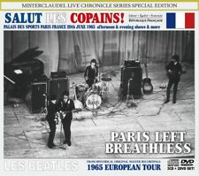 The Beatles / LIVE IN PARIS 1965 / 3CD+2DVD / New & Sealed!