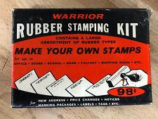 Vintage Warrior Rubber Stamping Kit No. A-75