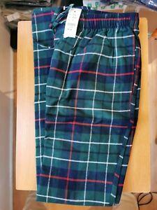Brooks Brothers Men's Checked Pyjama Trousers Medium