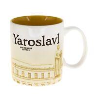 Starbucks Yaroslavl Russia Cup Coffee Mug Collector Global Icon Series 16oz