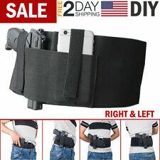 Belly Band Holster Concealed Hand Gun Carry Waist Under Shirt Coat Hidden Belt
