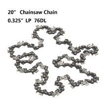 """20"""" Chainsaw Saw Chain 0.325 pitch .058 gauge 76DL Drive Links Spare Replacement"""