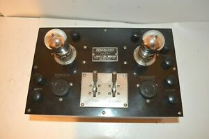 NEAR MINT WORKING EARLY 1920's MAGNAVOX TWO TUBE AMPLIFIER FOR EARLY RADIO USE