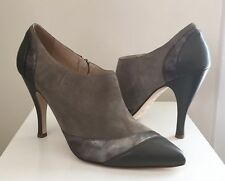 Marchez Vous Women's Ankle Boots Size 9M Suede Leather Taupe New Italy $575