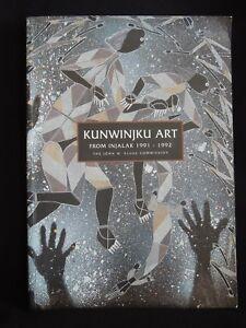 KUNWINJKU ART FROM INJALAK 1991/ 1992-ABORIGINAL ART- ED.C.A.DYER