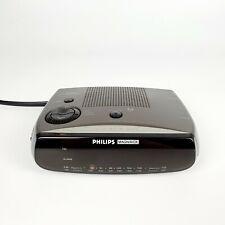 Vintage Philips Magnavox AM FM Clock Radio AJ-3080 Alarm Tested