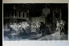 PAUL DELAROCHE-MAZARIN-GIRARD GRAVEUR-SCENE HISTORIQUE-GRAVURE-WALLACECOLLECTION