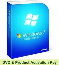 Windows 7 Professional 32 Bit Product Key & Disc Boot Re-Install Repair Recovery