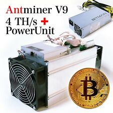 Bitmain Antminer V9 4th/s Sha-256 Btc/bch ASIC Miner US SELLER on Hand