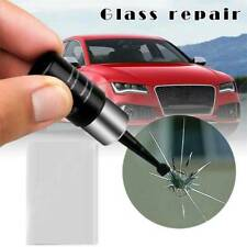 Automotive Glass Nano Repair Fluid Car Window Glass Crack Chip Repair Tool Kit ~