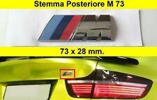 Stemma posteriore M Sport 3D BMW 73x28 mm ABS adesivo e83 e70 e84 logo fregio