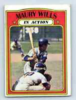 1972 Topps Maury Wills . #438