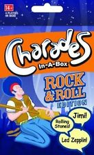 Outset Media Charades -in-a-box Rock and Roll Game 33004