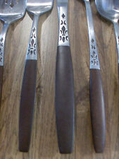 """Vintage Grand Prix Forged Stainlees """"Dior Muffin"""" Flatware, CHOICE of any 10 Pcs"""