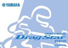 Yamaha Owners Manual Book 2004 Drag Star XVS125