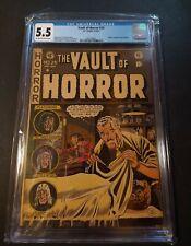 Vault Of Horror #24 CGC 5.5 EC Jonny Craig Cover 1952