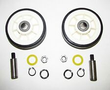 NEW (2 PACK) DRUM SUPPORT ROLLER KIT FOR MAYTAG (SEE MODEL FIT LIST)