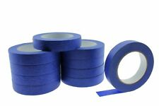 "10 PROFESSIONAL GRADE 1"" Blue Painters Masking Trim Edge Tape 180' 60 yd roll"