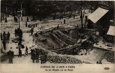CPA L'ORAGE DU 15 JUIN a PARIS (8e) Le Sol effondré rue du Havre (199921)