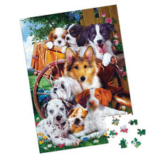 Fuzzy Friends Jigsaw Puzzle, Dog Edition - 1000 Pieces