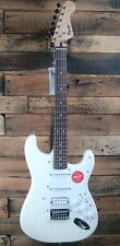 Squier by Fender Bullet Strat HSS HT Stratocaster Electric Guitar - White NEW