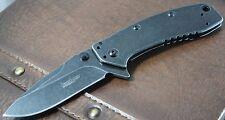 Couteau Kershaw Cryo II A/O Lame Acier 8Cr13MoV Blackwash Manche Acier KS1556BW