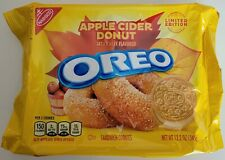 NEW Nabisco Oreo Apple Cider Donut Flavored Sandwich Cookies FREE WORLD SHIPPING