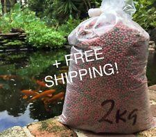 Fish Food Koi - Floating 4mm Mini Pellet - 2kg Bulk - FREE SHIPPING
