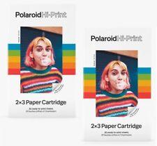 2 Pack - Polaroid Hi·Print Hi Print 2x3 Photo Paper Cartridge 20 sheets