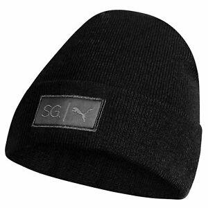 Puma x Selena Gomez Womens Beanie Winter Hat Black 022138 01