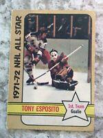 1972-73 O-Pee-Chee #226 Tony Esposito - Chicago Blackhawks R204