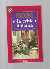 proust e la critica italiana - a cura di paolo pinto e giuseppe grasso -