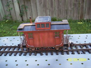 Bachmann Big Hauler G Scale Bobber Caboose  ( WEATHERED )