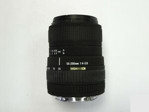 Sigma 55-200mm f/4-5.6 DC  Canon EF-S Fit Lens