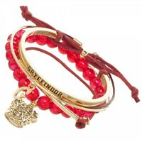 HOUSE GRYFFINDOR - Harry Potter Arm Party Bracelet Set Officially Licensed NEW