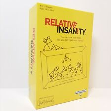Relative Insanity Party Game About Crazy Relatives Made & played by Comedian