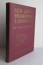 New Jersey Engineering & Supply Co Catalog 1943 Hardware Tools Machinery Passaic