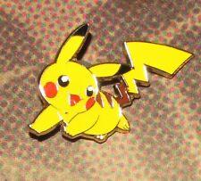 Pikachu Pin/Badge Unused Official Nintendo Pokemon 2017 NEAR MINT
