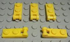 50 Stück LEGO® Fliesen mit Noppen 1x2 gelbe