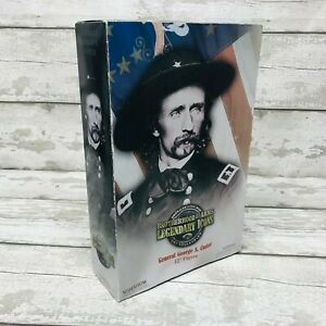"""Sideshow Toys Legendary Icons Collection General George Custer 12"""" Figure Boxed"""