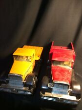 Vintage Nylint Coal and Gravel Co. Pressed Steel Dump Truck + Nylint Delivery