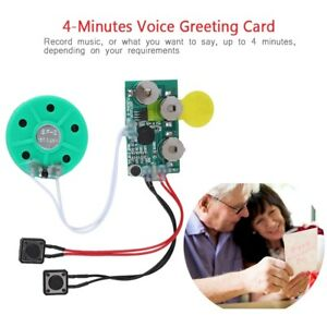 240s DIY Greeting Card Recordable Voice Chip Music Sound Module Gift Holiday
