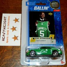 KEVIN GARNETT NBA 2007 UPPER DECK BOSTON CELTICS CAR COLLECTIBLE & CARD