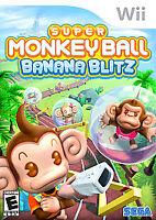 Super Monkey Ball: Banana Blitz (Nintendo Wii, 2006) Video Game