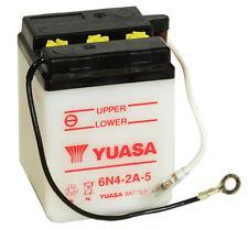 Genuine Yuasa 6N4-2A-5 6V Motorbike Motorcycle Battery Kawasaki Yamaha